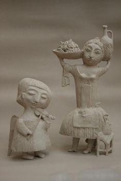 Yalonetskaya Elya и её живая керамика - Ярмарка Мастеров - ручная работа, handmade