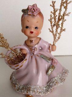 Vintage Southern Belle Figurine by Ucagco by SnickKnacks on Etsy, $25.00