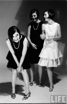 The Dees Triplets, Christina, Katha, & Megan 1960s | Photographed by Nina Leen