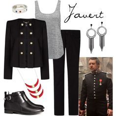 """Javert"" by fandom-wardrobes on Polyvore"
