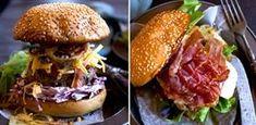 9 scrumptious burgers to rock your weekend Burger Mix, Burger Buns, Burger Recipes, Beef Recipes, Topside Beef, Easy Weekday Meals, Burgers And More, Lamb Burgers, Radish Salad