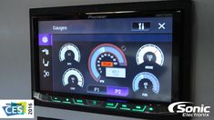 Last year Pioneer added Apple CarPlay and Android Auto to the NEX units, this year they added some cool car integration features. All of the NEX Series of he. Radios, Android Radio, Truck Mods, Hardware Software, Car Hacks, Information Technology, Car Audio, Gauges, Cool Cars