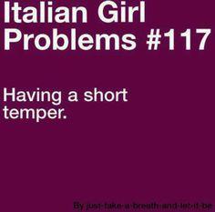 Italian girl problem...