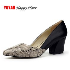 New 2017 Spring Summer High Heels Women Brand Heeled Shoes Fashion Women's Pumps Sexy Pointed toe Thick Heel 6cm ZH1657  #styles #instastyle #dress #ootd #pretty #iwant #love #sweet #fashionista #instafashion