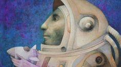 Joselito Sabogal realiza viaje cósmico a través de la pintura