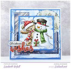 James Bear with Snowman – | Lizland |