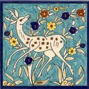 Handpainted Tile, Hand Painted Tiles by Balian
