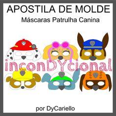 Apostila Máscaras Patrulha Canina