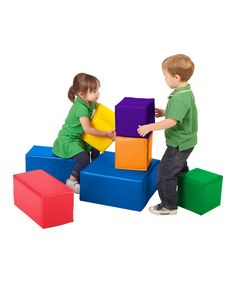 ECR4Kids SoftZone Big Block Set is in our Movement area of the playroom and is constantly being used.