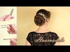 Haarnadeln - was verwende ich um meine Haare hochzustecken? - YouTube