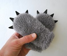 Baby Wolf Mittens by babycricket