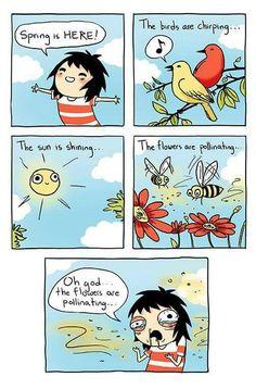 Spring is here #humor #comic #lol