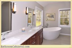 The Different Styles of Bathroom Cabinets