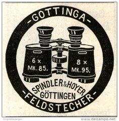 Original-Werbung/Inserat/ Anzeige 1911 - GOTTINGA FELDSTECHER - ca. 45 X 45 mm