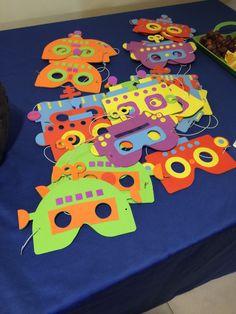 Máscaras de robot