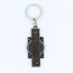Two Colors Vintage Game Of Thrones Keychains Key Ring Hot Sell Metal Zinc Alloy Key Holder Gift