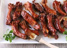 Should Be Illegal Oven BBQ Ribs Recipe - Genius Kitchen