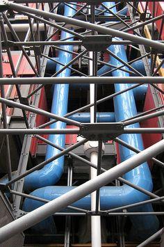 Paris - Beaubourg: Centre Georges Pompidou