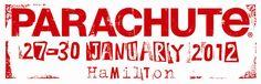 Parachute Music Festival Logo 2012. parachutemusic.com Music Festival Logos, History, Historia