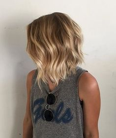 Layered Bob Fit For A Surfer Girl