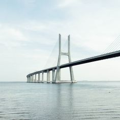 Vasco da Gama Bridge is the longest Bridge in Europe with 17 km long and I like it a lot!  #bridge #ponte #pontevascodagama #igersportugal #portugal #igerslisboa #lisboa #lisbon #lisbonspots #lisbonlovers #lisbonmylisbon #lisboacool #lisboalive #lisboalovers #travel #traveler #traveling #travelingram #travelernotebook #be_happy_in_lisbon #travelbloggers by gmonfreitas