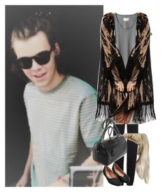 """""""Be-sunny day in Australia with your bf Harry"""" by onedirectionnhllz ❤ liked on Polyvore featuring Topshop, rag & bone, Staring At Stars and Yves Saint Laurent"""