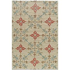 The Summit Rugs in Sand from Momeni are inspired by the surroundings of nature. These rugs are hand-hooked in bold floral and ethnic patterns in subtle beige, yellow, orange and brown. These rugs make a wonderful addition to any room in your home.