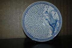 Ceramic plate (lale ve haliç) 25 cm