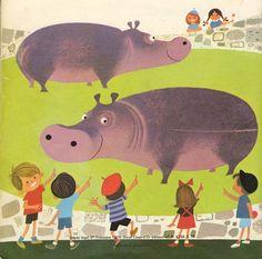 Illustration s'il vous plaît: Elisabeth Brozowska hippo