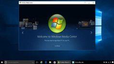 Windows Media Center -centro de entretenimiento multimedia para ordenadores personales de cine en casa- fue eliminado del lanzamiento de Windows 10, no se ofrece como herramienta independiente y en la actualización al sistema desde Windows 7 y 8.1 emite un aviso para su eliminación por razones de compatibilidad.