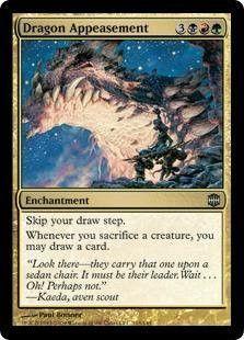 Magic: the Gathering - Dragon Appeasement - Alara Reborn - Foil