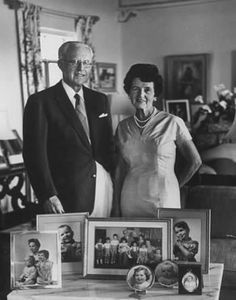 Picture of Joe and Rose Kennedy in their  Palm Beach Home