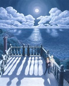 50 best art rob gonsalves images on pinterest magic realism