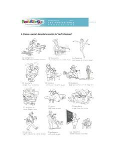 Spanish Worksheet about clothes, places and weather more