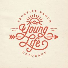 Young Life by Sunday Lounge #calligraphy #inspiration #design