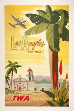 """Free Vintage Posters, Vintage Travel Posters, Wall Art, Printables: Search results for """"Los Angeles"""" Art Vintage, Photo Vintage, Vintage Travel Posters, Vintage Postcards, Vintage Style, Vintage Images, Poster Art, Retro Poster, Kunst Poster"""