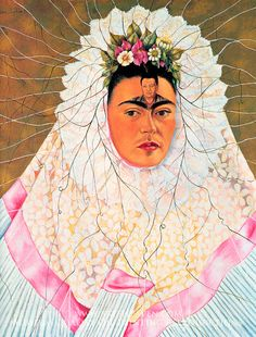 Frida Kahlo. Diego in My Thoughts 1943
