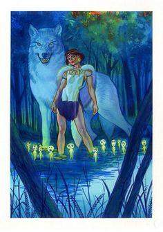 Princess Mononoke by Brian Stelfreeze *
