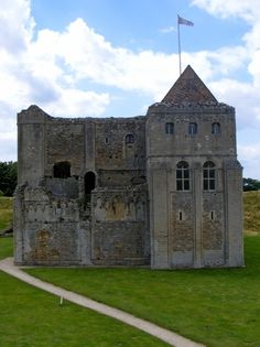 Castle Rising is a ruined medieval fortification in the village of Castle Rising, Norfolk, England. It was built soon after 1138 by William d'Aubigny II, who had risen through the ranks of the Anglo-Norman nobility to become the Earl of Arundel. Castle Ruins, Medieval Castle, Old Buildings, Abandoned Buildings, Abandoned Castles, Abandoned Places, The Places Youll Go, Places To Go, Monuments