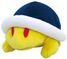 "Sanei Super Mario Plush Series Buzzy Beetle/Meto Plush Doll, 4"" Sanei http://www.amazon.com/dp/B00G9Y2MP2/ref=cm_sw_r_pi_dp_LpB3tb0QJW2VS8HR"
