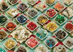 Grandma's Buttons Jigsaw Puzzle Cobble Hill