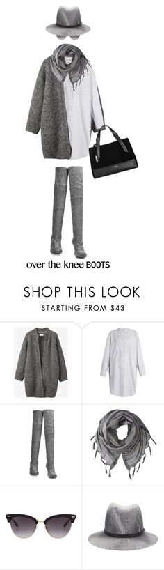 """""""Fall Footwear: Over-The-Knee Boots"""" by polivorka-polivorochka ❤ liked on Polyvore featuring Toast, Acne Studios, Love Quotes Scarves, Gucci, rag & bone, Tignanello and Boots"""