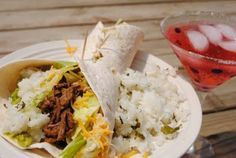 Slow Cooker Barbacoa and Cilantro Lime Rice (like Chipotle!!!)