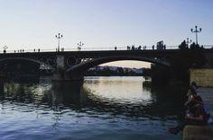 El único río navegable en España--el Guadalquivir! Iban los conquistadores de Sevilla a Cadiz por este río para que pudieran ir al Nuevo Mundo #isaabroad #studyabroad by penguinn7777