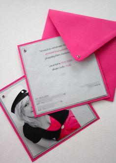 DIY: Kutsu ja kiitoskortti ylioppilasjuhliin / Invitation and thank you card for graduation