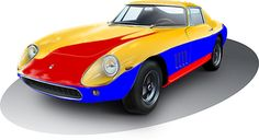 Voiture De Course, Roadster, Automobile