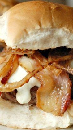 Beer Cheese Bacon Burger