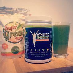 Pimp my #greensmoothie. #superfood  #athleticgreens #detox