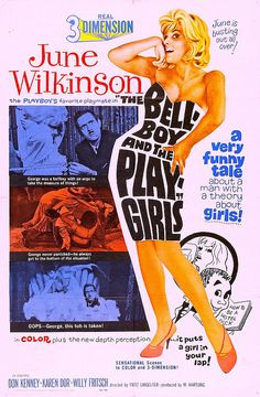 The Bell-Boy and the Playgirls (1962) - June is Busting Out All Over!