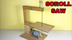 How to make SCROLL SAW machine at home portable mini table saw Materials 775 motor Switch & Dc socket Scroll saw blades Music Credit🔻 Aero Chord - Time Le. Woodworking Tools For Beginners, Woodworking Techniques, Woodworking Projects Diy, Woodworking Wood, Diy Wood Projects, Homemade Tools, Diy Tools, Scroll Saw Blades, Diy Furniture Videos